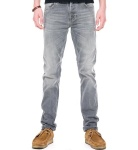 "Nudie Jeans ""Grim Tim"" - grey wave"