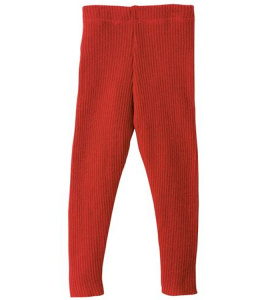 Disana Strick-Leggings - rot