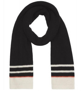 Knitted Scarf - black