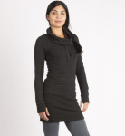 Sweat Dress - schwarz