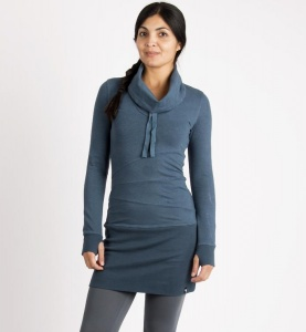 Sweat Dress - blau