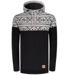 "Bleed Kapuzenpullover ""Norway Half-Zip"" - schwarz"