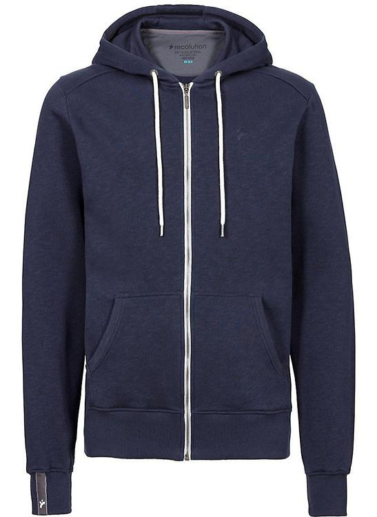 "Herren Zipper ""Basic"" - navy"