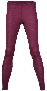 Damen Leggins Wolle / Seide - orchidee