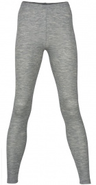Women's Leggins Wool/Silk - light grey melange