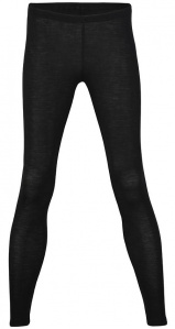 Women's Leggins wool / silk - black