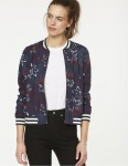 "Blouson ""Loya Flower Confusion"" - navy"