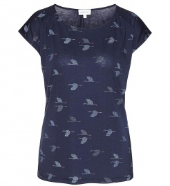"Top ""Lili Crane Dance"" - navy"