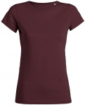 "T-Shirt ""Stella Wants"" - burgundy"