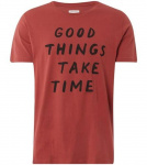 "T-Shirt ""James Good Things"" - rot"