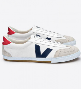 "Veja ""Volley Canvas"" - white/nautico/pekin"
