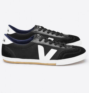 "Veja ""Volley Canvas"" - black"