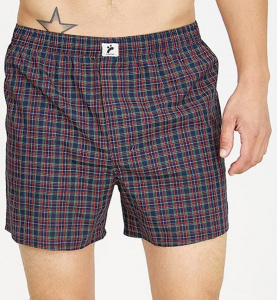 "Boxershorts ""Checked"" - coloured checked"