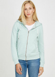"Frauen Zipper ""Basic"" - mint"