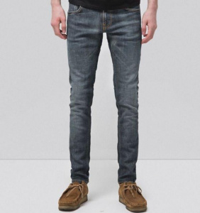 "Jeans Nudie ""Tight Terry"" - dark pacific"