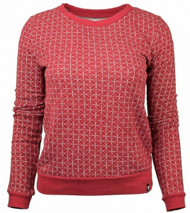 "Sweater ""Retro Future"" - rot"