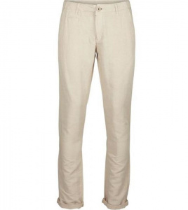 Pantalon Garment Dyed Chino - beige