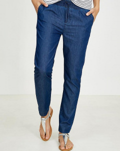 Frauen-Hose Slim - dark denim