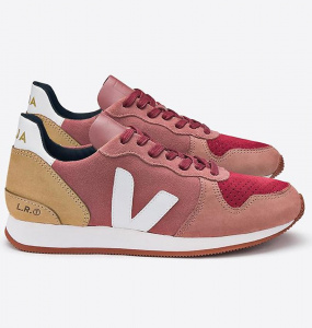 "Veja ""Holiday Suede"" - altrosa/braun/rot"