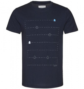 "T-Shirt ""James Pixel Monster"" - navy"