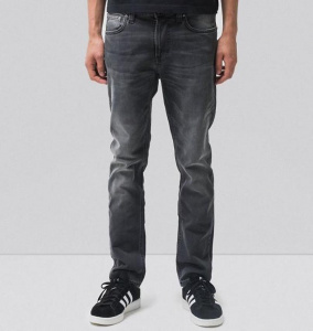"Nudie Jeans ""Lean Dean"" - mono grey"