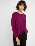 "Top ""Amara"" (wool) - purple"