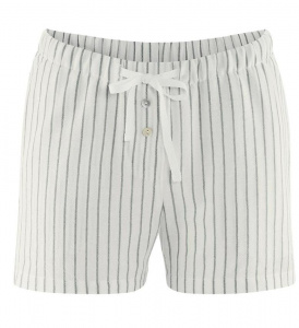 Pajama Shorts - white/grey