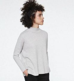 "Knit Jumper ""Yunaa"" - light grey melange"