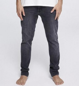 "Slim Fit Jeans ""Ian Black"" - grey wash"