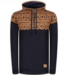 "Bleed ""Norwegian Half-Zip"" - navy/ocker"