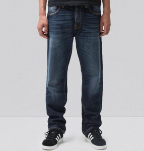 "Nudie Jeans ""Sleepy Sixten"" - authentic dark"