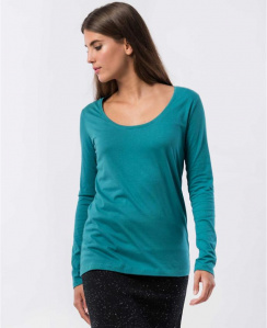 88cf2455b408 fairtragen - online shop · Damen · bio faire Basic Tops · - langarm