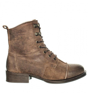 "Ten Points Ankle Boot ""Pandora"" - tobacco"