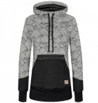 "Bleed ""Mountain Hoody Damen"" - schwarz"