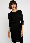Una Knitted Dress (wool) - black