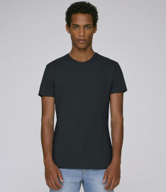 "Slim Fit T-Shirt ""Stanley Feels"" - schwarz"