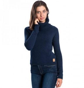 "Bleed ""Turtle Pullover Damen"" - navy"