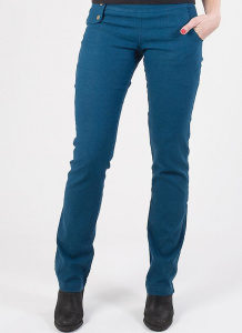 Pantsy Straight Fit (Hanf) - blau