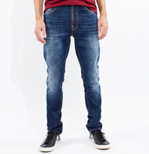 "Jeans Nudie ""Lean Dean"" - blue ridge"