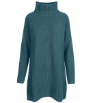 "Knit Dress ""Melis"" (wool) - vivid petrol"