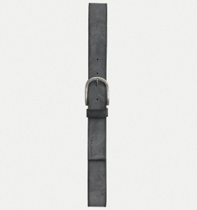 "Nudie ""Ingesson Suede Belt"" - grey"