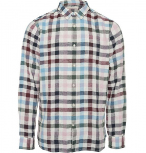 Yarndyed Checked Shirt (linen)