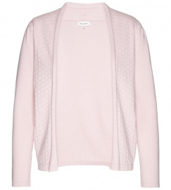 "Fineknit Cardigan ""Brindaa Marks"" - fresh rose"