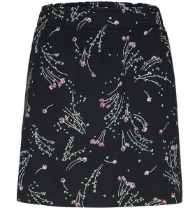 "Skirt ""Nanaa Spring Ditsies"" - black"