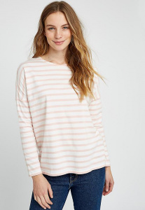 Nerissa Stripe Top - pink