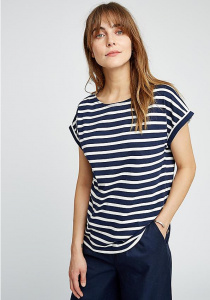 Jodie Stripe Top - navy
