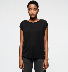 "Tencel™ Shirt ""Jilaa"" - black"