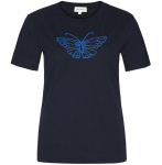 "Shirt ""Lidaa Butterfly"" - navy"