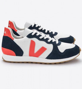 "Veja Shoe ""Holiday Rec"" - arctic nautico orange fluo"