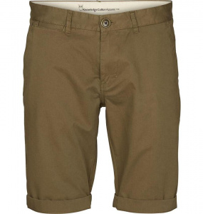 Twisted Twill Shorts - oliv